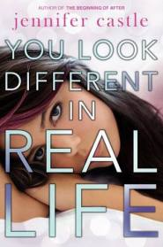 Cover for YOU LOOK DIFFERENT IN REAL LIFE